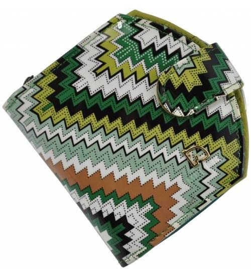 Жіночий шкіряний гаманець 001B-14 різнобарвний