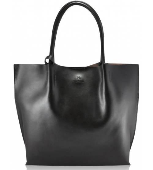 Женская кожаная сумка 828 коричневая