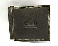 Зажим для денег кожа Always Wild