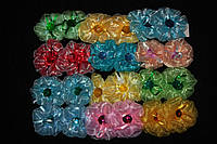 Детские резинки; бантики для волос 24 штуки в упаковке