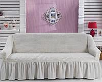 Чехол на диван Arya Burumcuk кремовый, фото 1