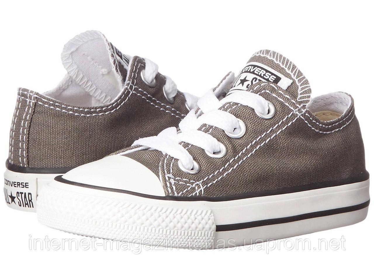 Детские Кеды Converse Chuck Taylor All Star Low Grey (конверсы ) — в ... 754eadb45c0
