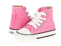 Детские кеды Converse Chuck Taylor All Star High Pink (конверсы )