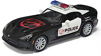 Машина металл KINSMART SRT Viper GTS Police, в коробке