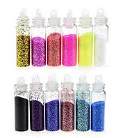 Яркая пудра для ногтей (набор из 12 цветов)