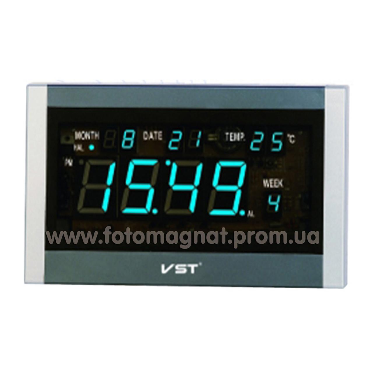 Говорять мережеві годинник VST 771 Т-5 — Настільне і настінне кріплення