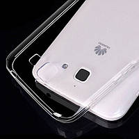 Чехол силиконовый Ультратонкий Epik для Huawei Ascend G730 Прозрачный