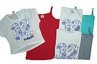 Комплект-двойка (майка с топом)  для девочки, размер 134,140,146,152, арт. GPO-1783