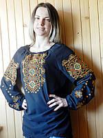 Вышитая женская блузка (015)