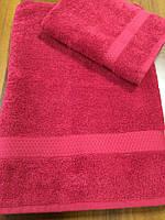 Махровое полотенце 70х140 см банное, 100% хлопок (Азербайджан)