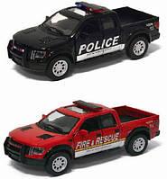 Машина  KINSMART Ford F-150 SVT Police, Fire, фото 1