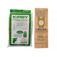 Антиаллергенные бумажные сменные фильтры Kirby, 3шт
