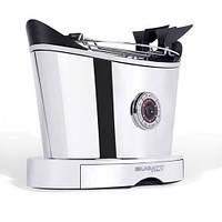 Тостер Bugatti Volo хром