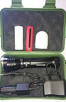 Аккумуляторный фонарь Police 515, ручной фонарь в поход, для рыбалки, туризма, фонарь,