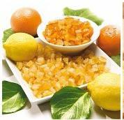 Апельсиновые цукаты влажные 6х6 мм (100 грамм)