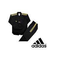Кимоно для тхэквондо Adidas Champion Color Dobok (Black Gold)