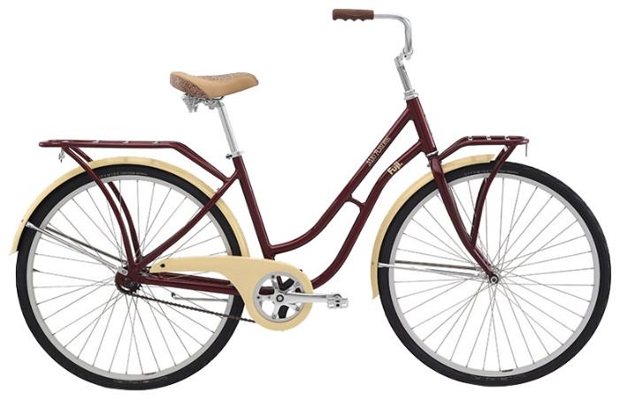 """Городской женский велосипед Fuji Mio Amore 28"""", красный, 19"""" (GT)"""
