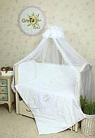 Комплект детского постельного белья в кроватку Непоседа