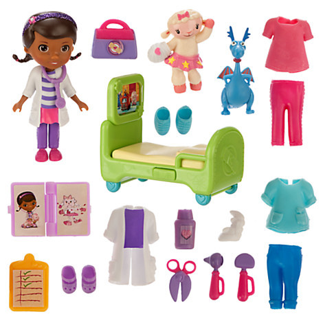 Доктор Плюшева игровой набор Дисней / Doc McStuffins Mini Figure Set Disney
