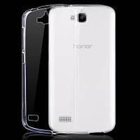 Чехол силиконовый Ультратонкий Epik для Huawei Honor 3c Прозрачный