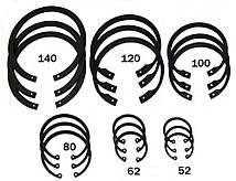 Стопорное кольцо Ф10 ГОСТ 13943-86, DIN 472