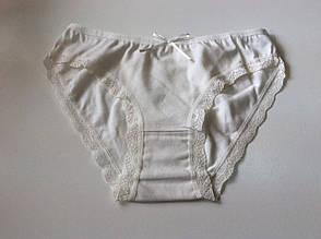 Трусики белые с ажуром, фото 2