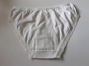 Трусики белые с ажуром, фото 3