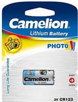 Батарейка CAMELION Lithium Cell  3V  CR123 (C1)