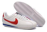 Мужские кроссовки Nike Cortez Classic Leather белые, фото 1