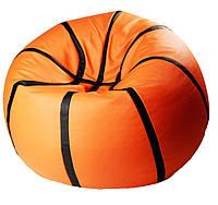 Бескаркасное кресло мяч пуф баскетбол детская мягкая мебель