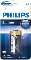 Батарейка PHILIPS Lithium Cell  3V  CR123