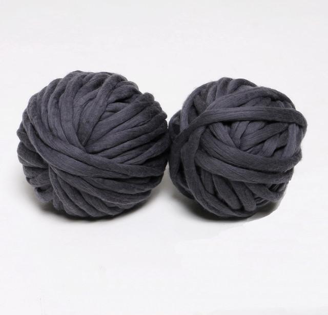 Толстая пряжа TERMO (Ø 2,5 см.) для вязания шапок, кардиганов