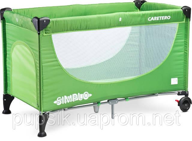 Кровать-манеж Caretero Simplo