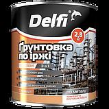 """Грунтовка по ржавчине ПФ-010М TM """"Delfi"""" (черная) 25 кг, фото 2"""