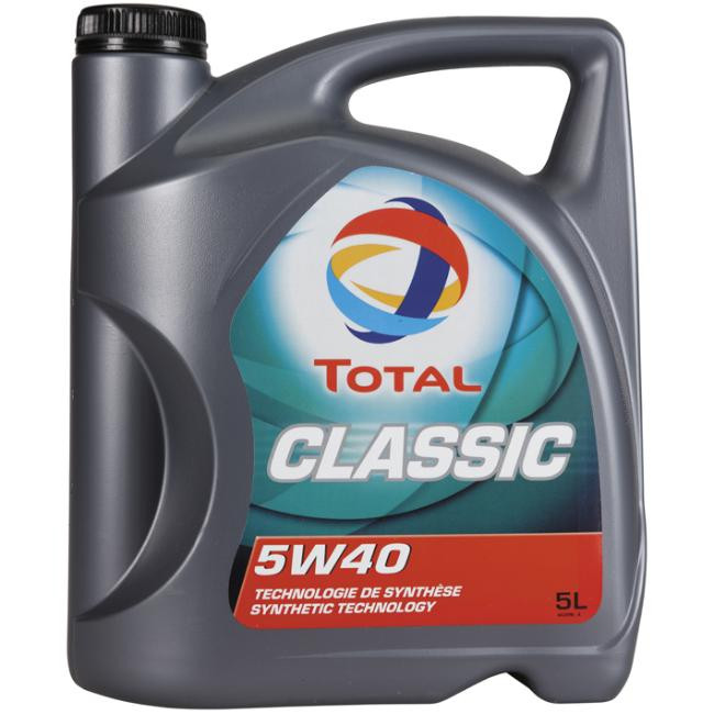 Моторне масло TOTAL CLASSIC 5W-40 5 л