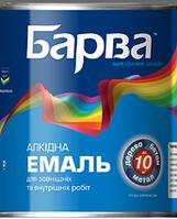Эмаль Алкидная Барва Бирюзовый 2,6 кг