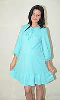 Платье для беременных с завязкой