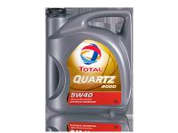 Моторное масло TOTAL QUARTZ 9000 5W-40 5 л