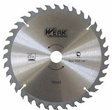 Пильні диски WERK по дереву 150X22.23, 40 зуб.
