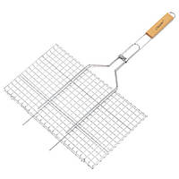 Решетка для гриля и барбекю из нержавеющей стали 26х45 см Maestro MR-1005