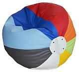 Бескаркасное Кресло-мяч пуф мебель детская мягкая, фото 2