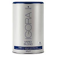 Беспылевой порошок, осветление до 7-го уровня (голубой) IGORA Vario Blond Plus  450qr
