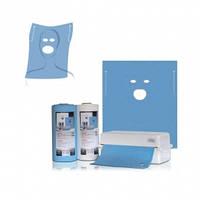 Одноразовое покрытие(нагрудник) Thienel Dental с вырезом глаза/рот, 60х54 40шт.