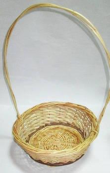 Корзина плетенная 30/49 см