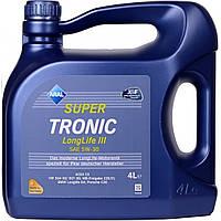 Моторное масло синтетика  Aral (Арал) SuperTronic Longlife III 5W-30 4л