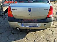 Фаркоп HakPol для Dacia Logan седан 2004-2012 Условно съемный