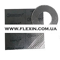 Прокладка графитовая DN 125 PN 10/16 армированная