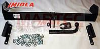 Фаркоп HakPol для Nissan navara бампер подножка 2005- Условно съемный