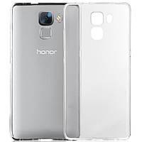 Чехол силиконовый Ультратонкий Epik для Huawei Honor 7 Прозрачный