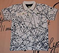 Детская футболка белая для мальчика Lacoste